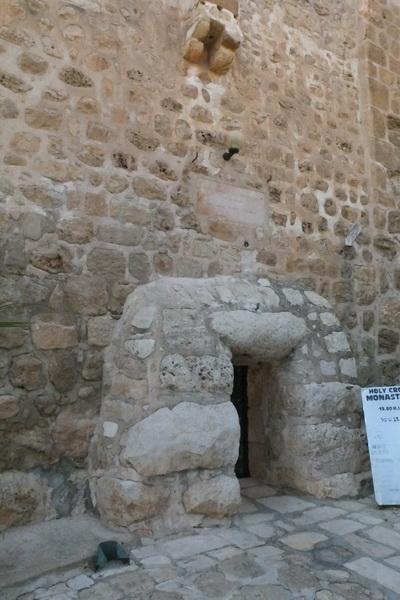 Прочие страны, Израиль, Иерусалим - Новый город. Монастырь Святого Креста, фотография. архитектурные детали, Вход в монастырь