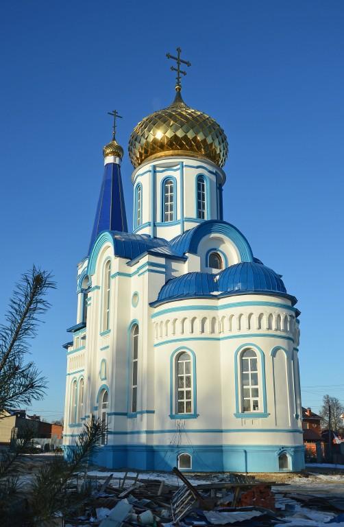 Тульская область, Тула, город, Тула. Церковь Казанской иконы Божией Матери, фотография. фасады