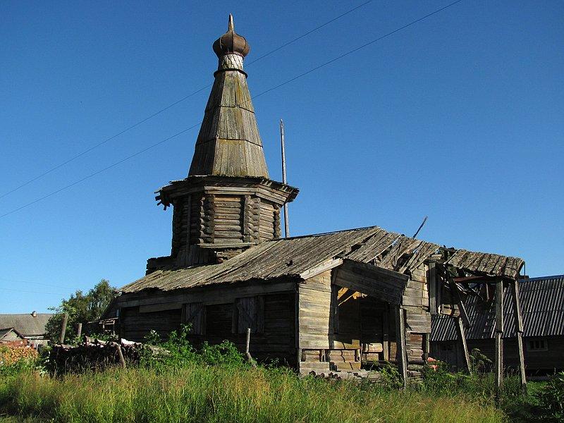 Часовня Георгия Победоносца, Часовня (Нижние Хаврогоры)
