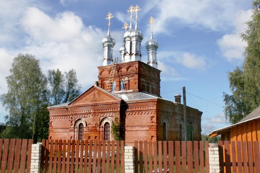 Спасский Пальцевский женский монастырь. Церковь Спаса Нерукотворного Образа, Пальцево