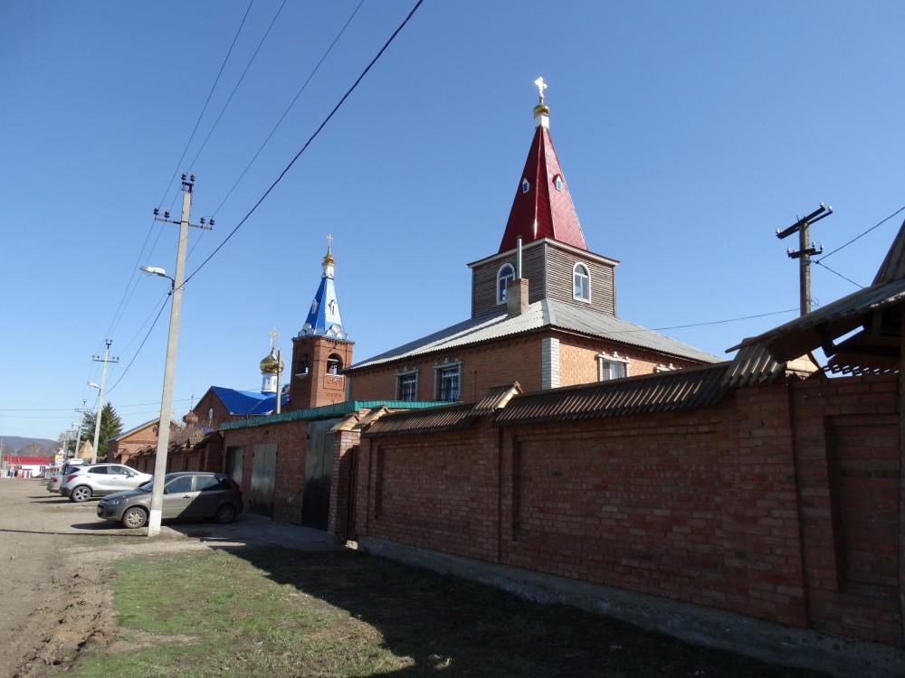 Республика Башкортостан, Кумертау, город, Ира. Марфо-Мариинский женский монастырь, фотография. фасады