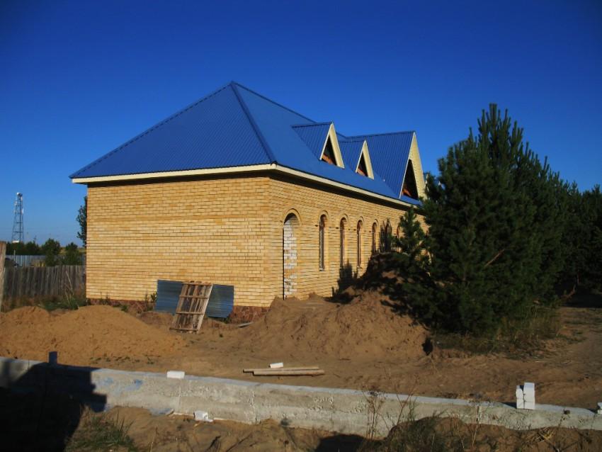 Церковь Николая Чудотворца (строящаяся), Бородулиха