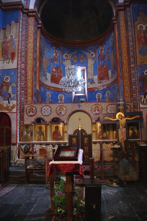 Грузия, Тбилиси, город, Тбилиси. Церковь Святого Креста, фотография. интерьер и убранство