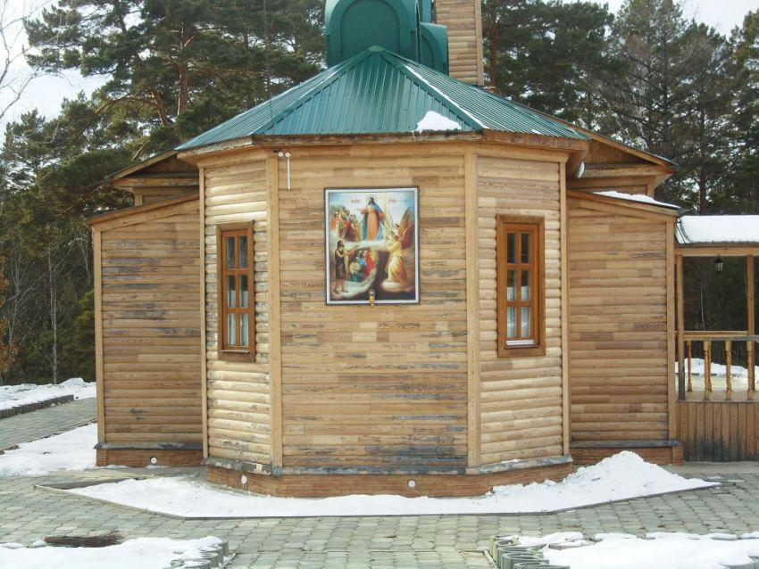 Церковь Варвары великомученицы, Зея