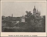 Калуга. Покрова Пресвятой Богородицы у Березуйского оврага, часовня