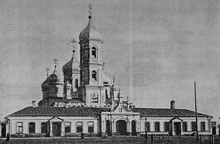Самарская область, Самара, город, Самара. Церковь Илии Пророка на Ильинской площади, фотография. архивная фотография, Фотография приблизительно 1895 года. Источник - сайт