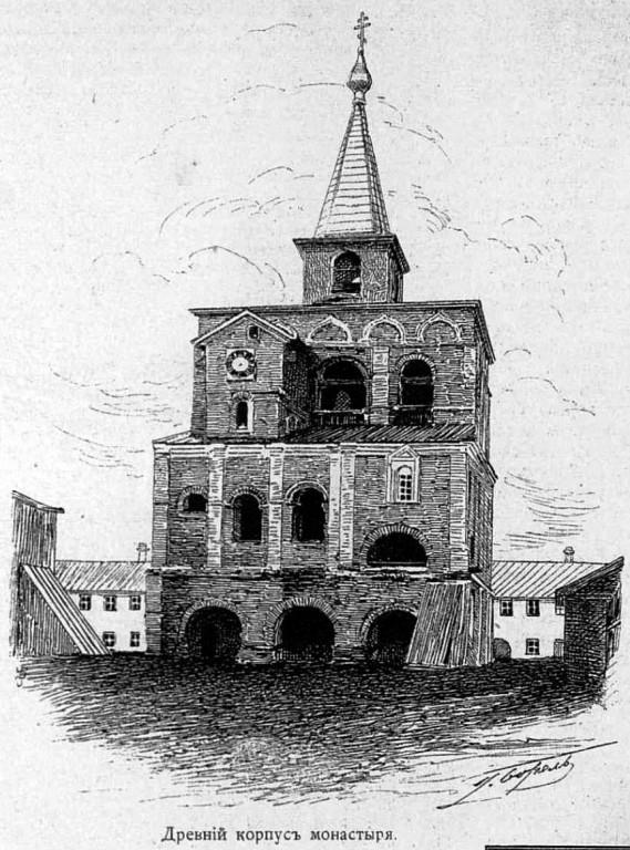 Александро-Свирский монастырь. Звонница, Старая Слобода