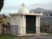 Неизвестная часовня - шоссе Argous-Tripolis между Агиoргитикой и Ахлабокамбосом - Пелопоннес (Πελοπόννησος) - Греция