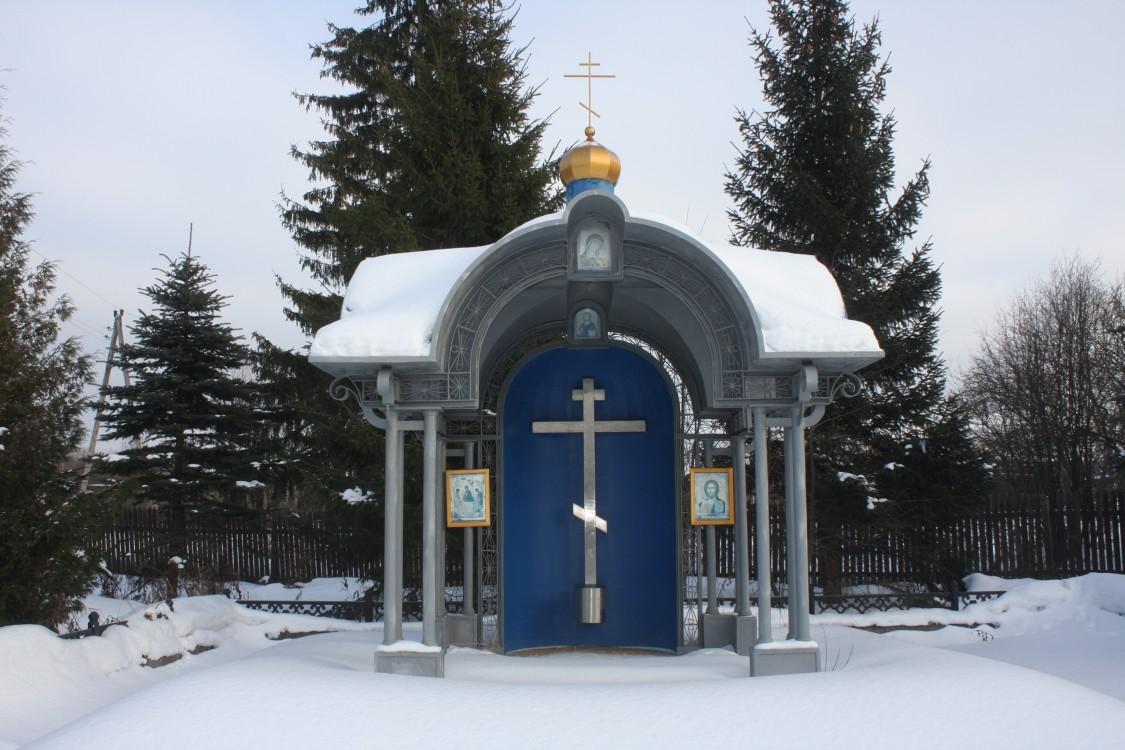Московская область, Наро-Фоминский городской округ, Блознево. Неизвестная часовня, фотография. фасады