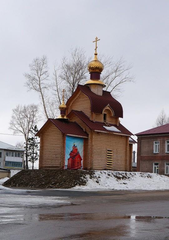 Кемеровская область, Яшкинский район, Яшкино. Церковь Казанской иконы Божией Матери, фотография. фасады