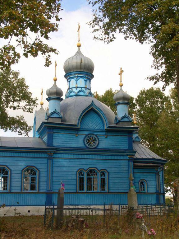 Церковь Николая Чудотворца, Дубой