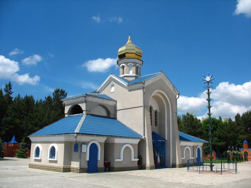 Украина, Днепропетровская область, Днепр, город, Днепр. Церковь иконы Божией Матери