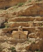 Монастырь Георгия Хозевита. Церковь мучеников Хозивских - Иудейская пустыня, Вади Кельт (Нахаль Прат) - Палестина - Прочие страны