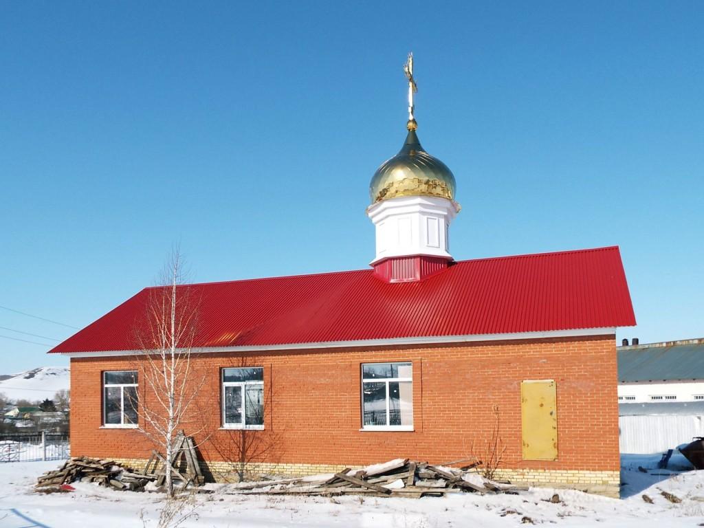 Республика Татарстан, Бавлинский район, Потапово-Тумбарла. Церковь Михаила Архангела, фотография. фасады