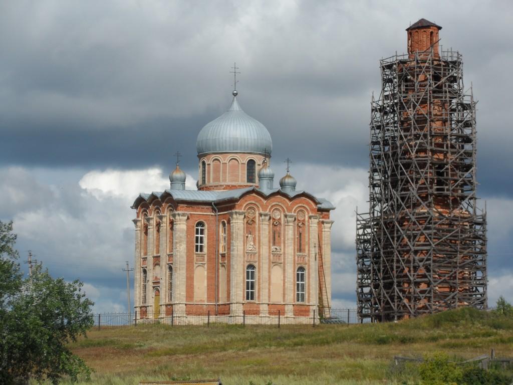 Церковь Екатерины, Тугустемир