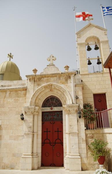 Прочие страны, Израиль, Иерусалим - Новый город. Монастырь Онуфрия Великого, фотография. фасады