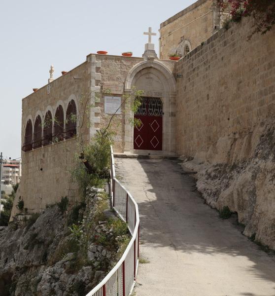 Прочие страны, Израиль, Иерусалим - Новый город. Монастырь Онуфрия Великого, фотография. фасады, Вход в монастырь