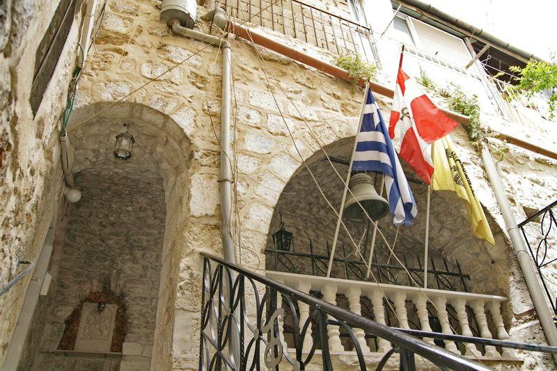 Прочие страны, Израиль, Иерусалим - Старый город. Монастырь Георгия Победоносца, фотография. фасады
