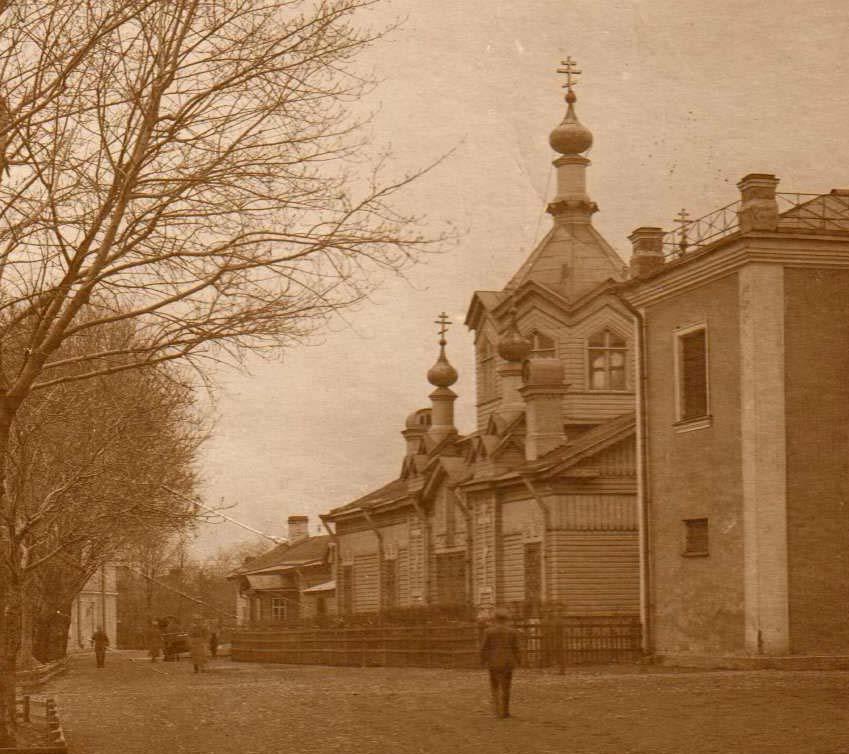 Церковь Илии Пророка при Офицерской Воздухоплавательной школе, Санкт-Петербург