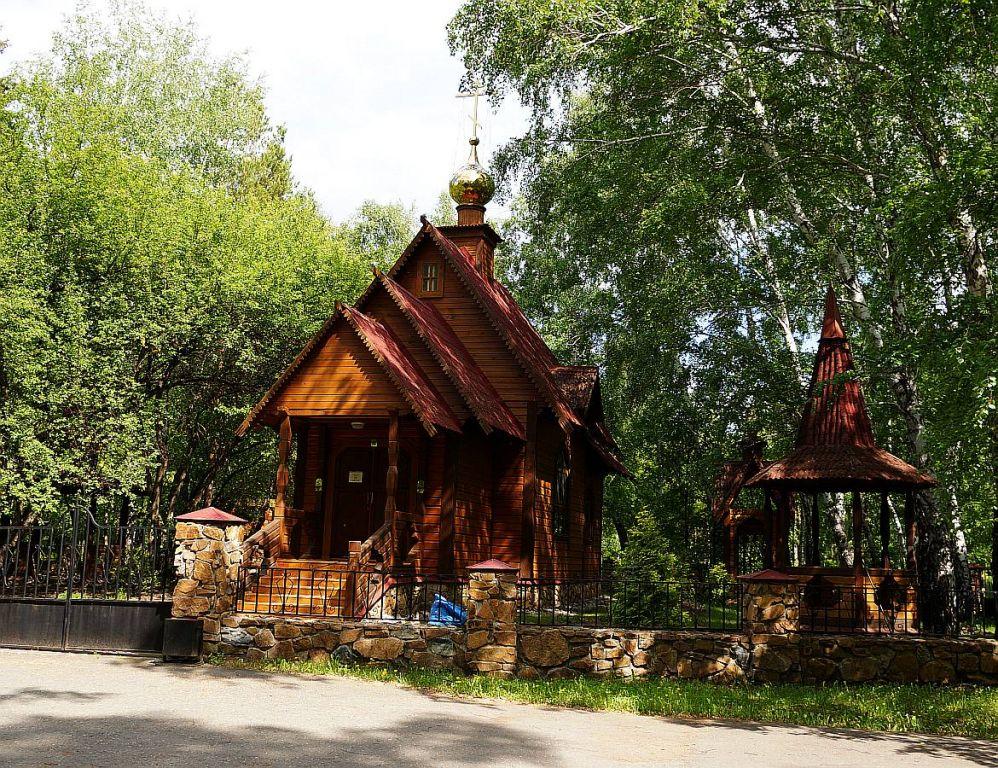 Новосибирская область, Краснозёрский район, Краснозёрское. Церковь Пантелеимона Целителя, фотография. документальные фотографии