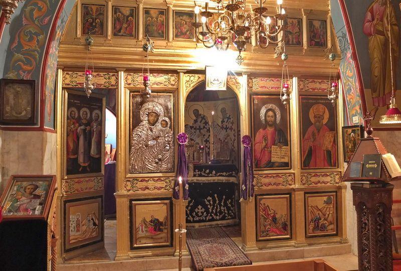 Монастырь Пантелеимона и Кирилла Иерусалимского, Иерусалим - Старый город