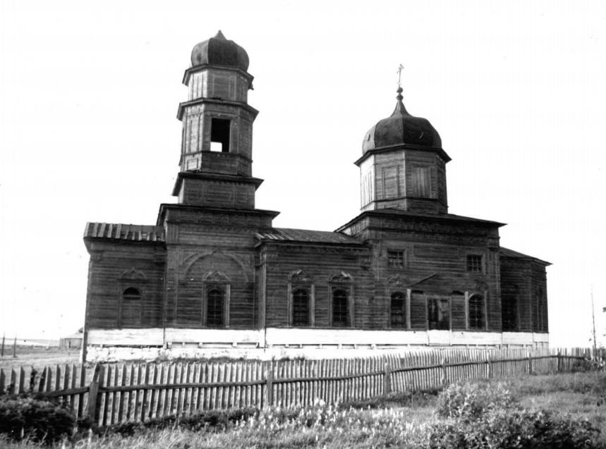 Церковь Михаила Архангела, Губашево