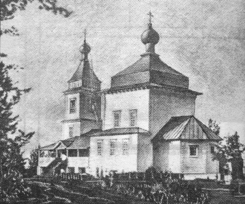 Церковь Всех Святых, Великорецкое