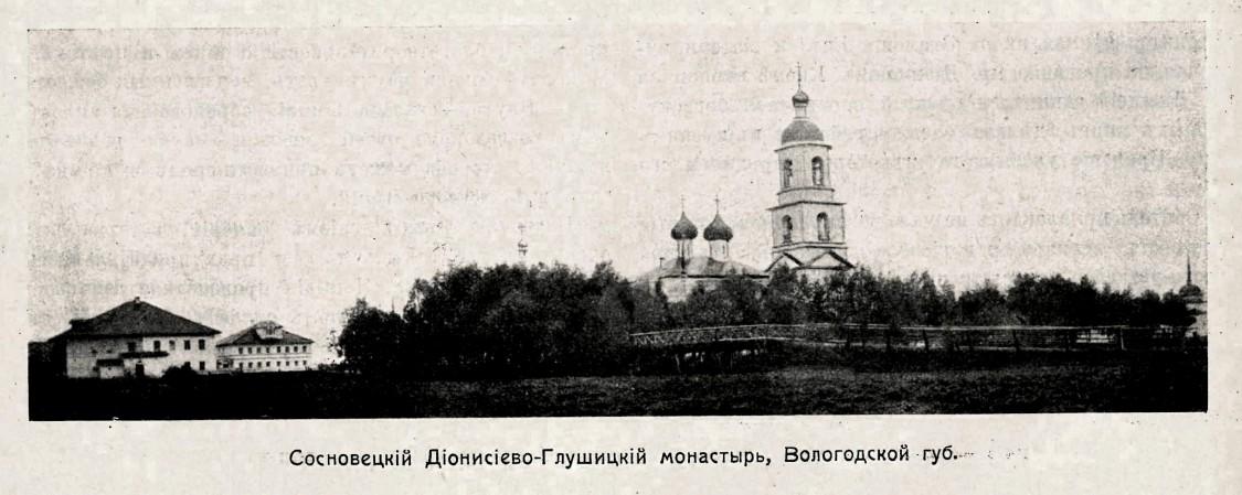 Дионисиево-Глушицкий Сосновецкий монастырь, Сосновец