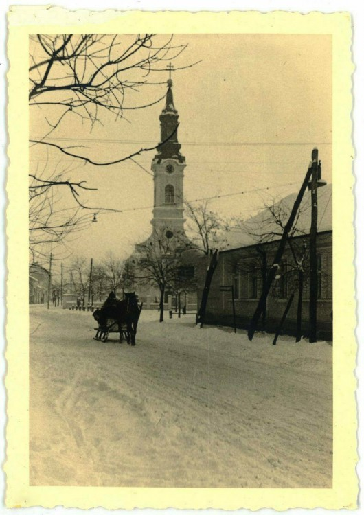 Румыния, Арад, Арад. Церковь Петра и Павла, фотография. архивные фотографии, Фото 1941 г. с аукциона e-bay.de