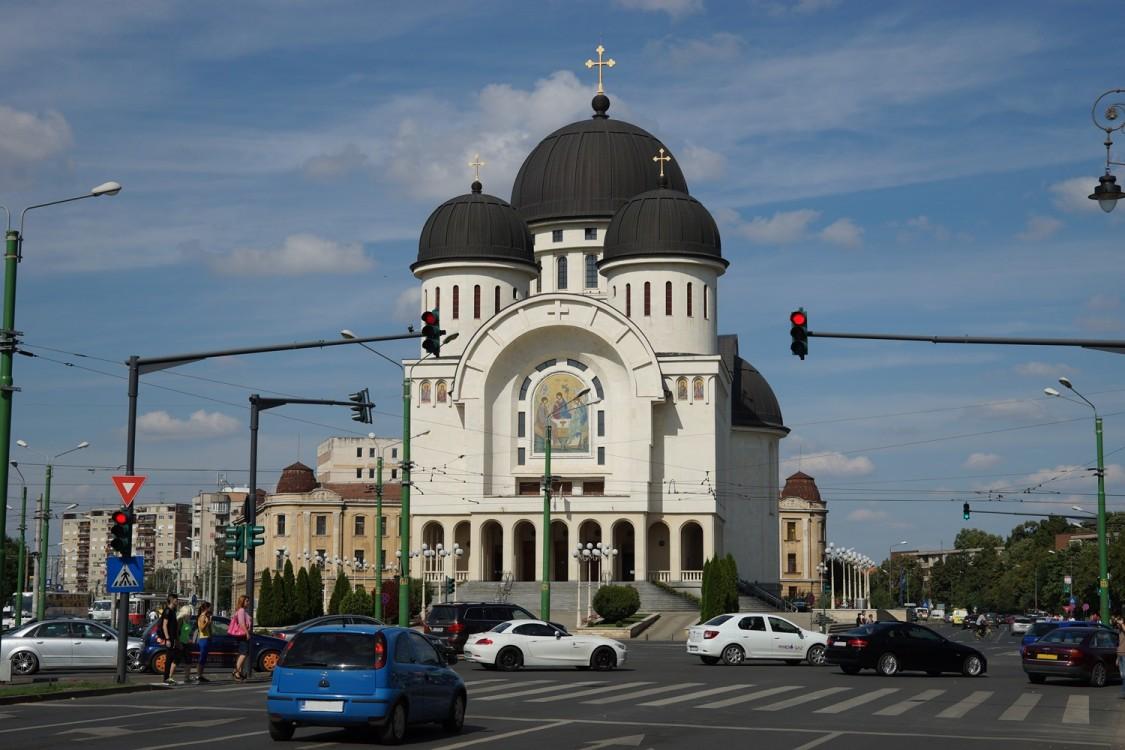 Собор Троицы Живоначальной, Арад
