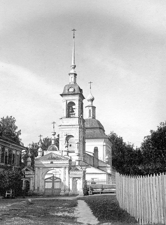 Церковь Воздвижения Креста Господня на Крестовоздвиженском кладбище, Кострома