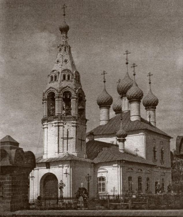 Церковь Николая Чудотворца в Никольской слободе, Кострома