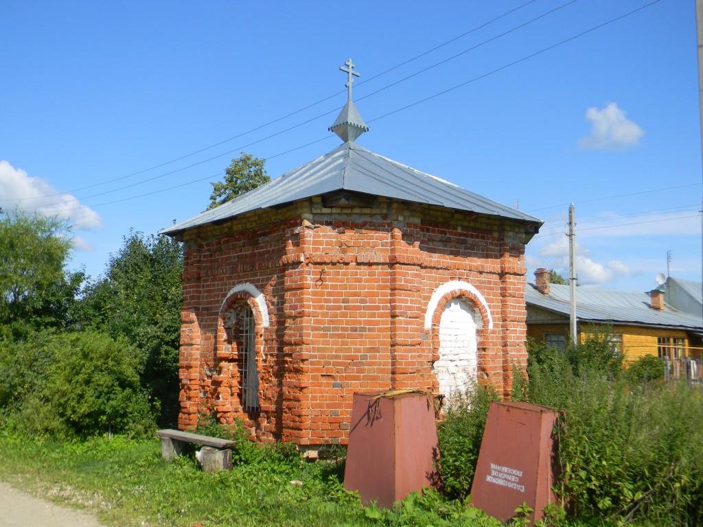 Ивановская область, Лежневский район, Сёлышки. Неизвестная часовня, фотография. фасады