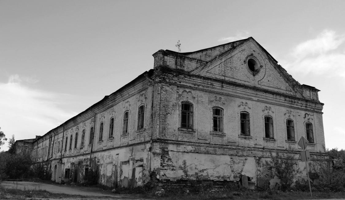 Тюменская область, Тобольский район и г. Тобольск, Тобольск. Знаменский мужской монастырь, фотография. фасады