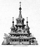 Церковь Казанской иконы Божией Матери - Приволье - Руднянский район - Смоленская область