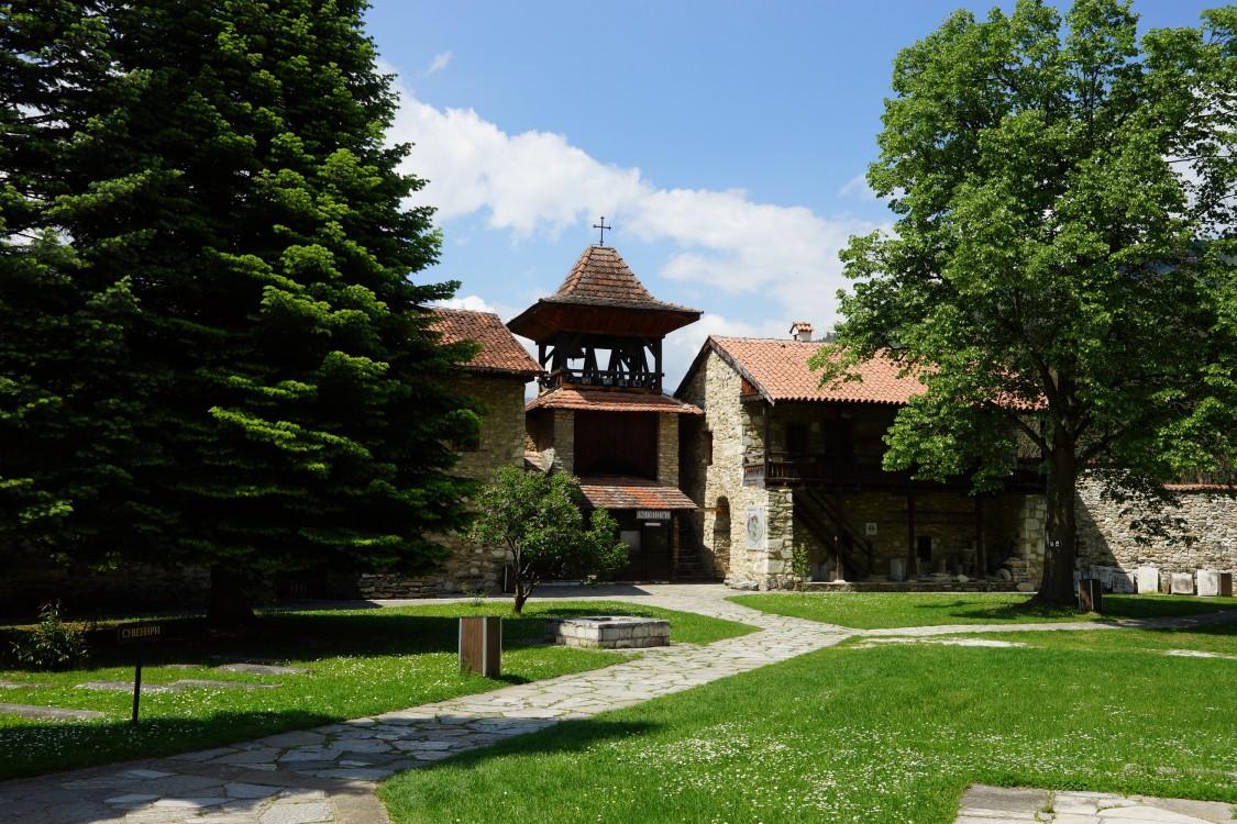 Сербия, Рашский округ, Брезова. Студеницкий Успенский монастырь, фотография. фасады