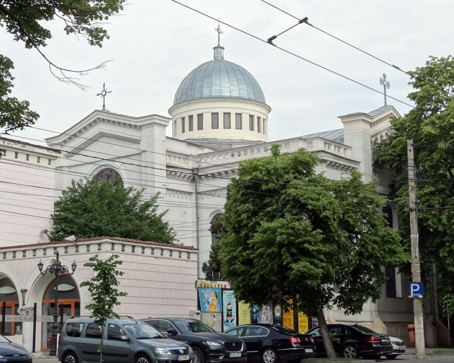 Румыния, Галац, Галац. Церковь Спаса Преображения, фотография. фасады