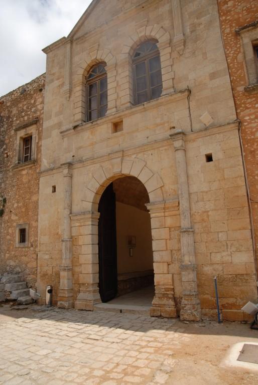Греция, Крит (Κρήτη), Аркади. Константино-Еленинский монастырь, фотография. фасады