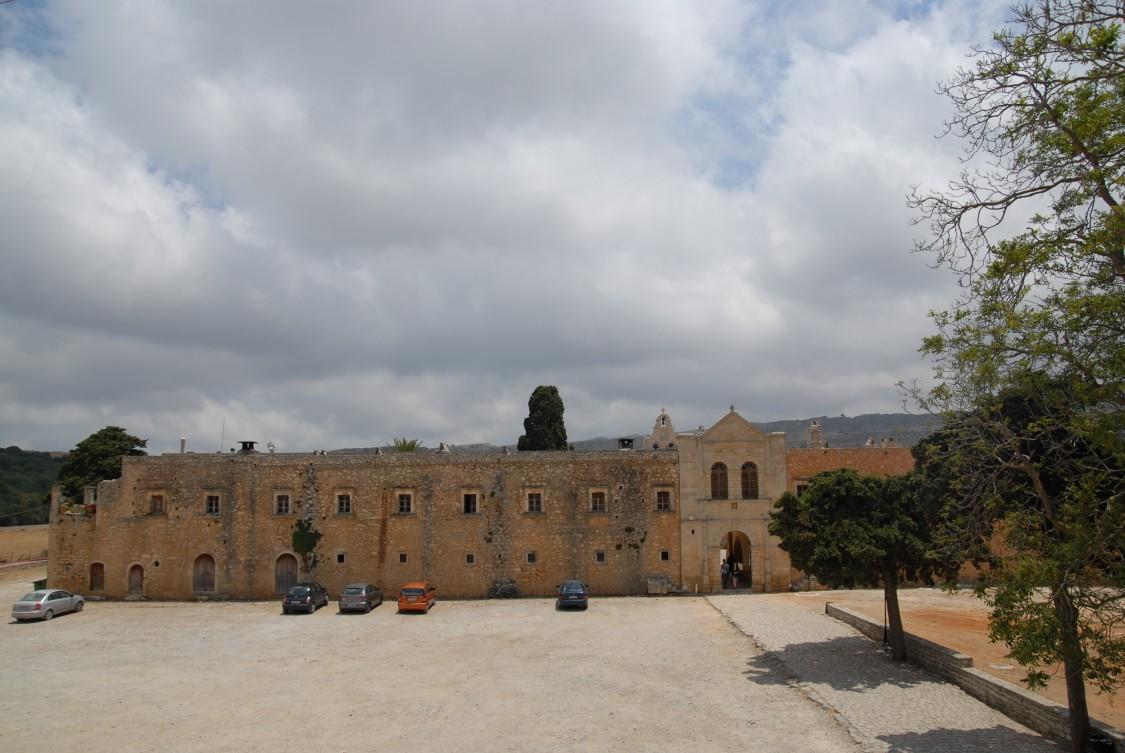 Греция, Крит (Κρήτη), Аркади. Константино-Еленинский монастырь, фотография. дополнительная информация