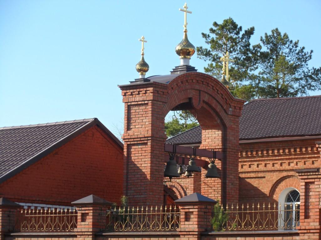Оренбургская область, Оренбург, город, Оренбург. Успенский женский монастырь, фотография. дополнительная информация, звонница