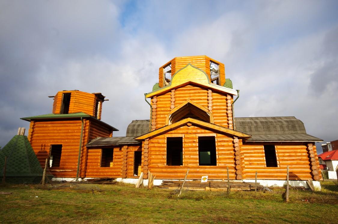 Церковь Боголюбской иконы Божией Матери (строящаяся), Баложи