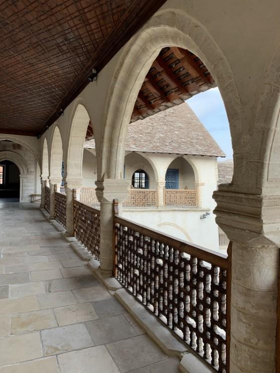 Монастырь Животворящего Креста, Омодос
