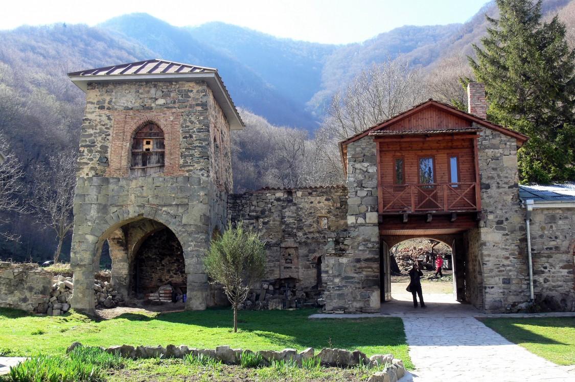 Грузия, Шида-Картли, Кватахеви. Успенский монастырь, фотография. дополнительная информация