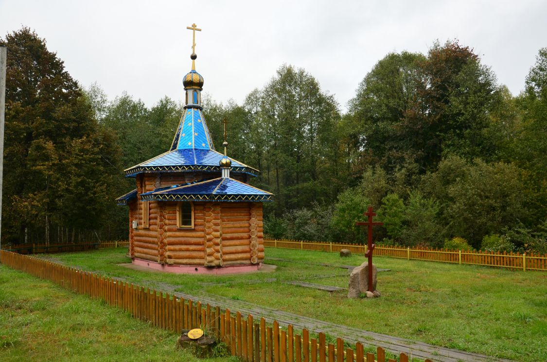 Брянская область, Клетнянский район, Елисеевка. Часовня Александра Невского, фотография.