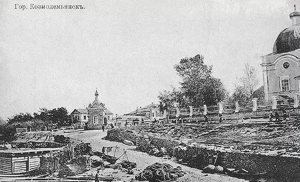 Церковь Успения Пресвятой Богородицы, Козьмодемьянск