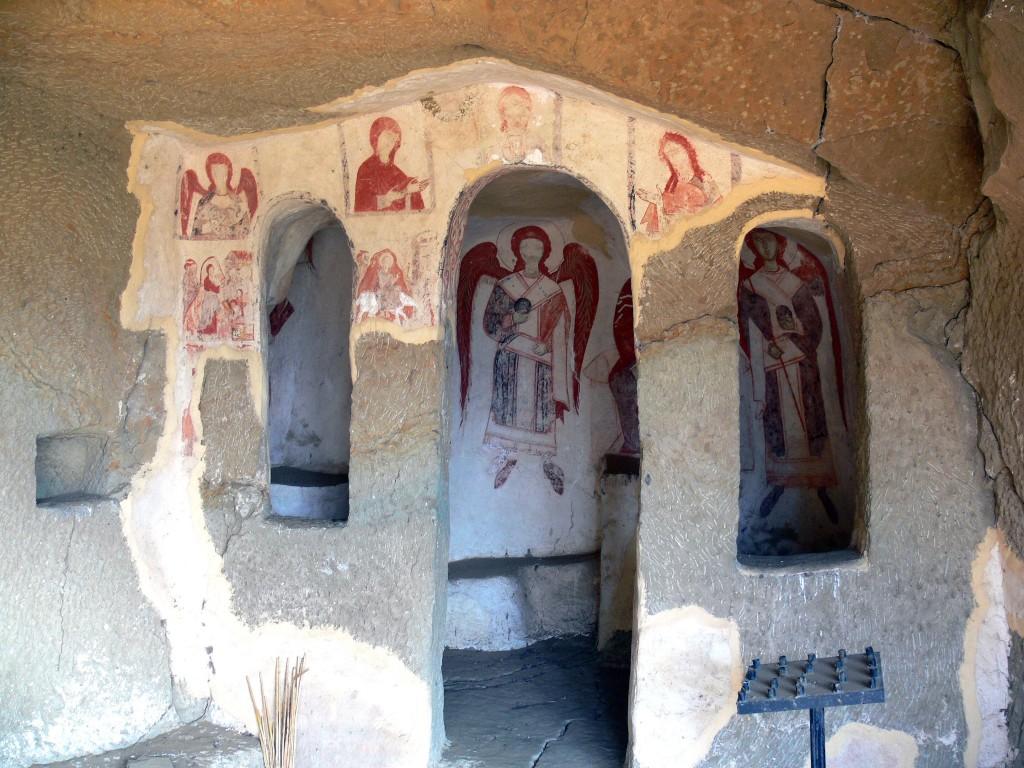 Монастырь Воскресения Христова, Гареджи, хребет