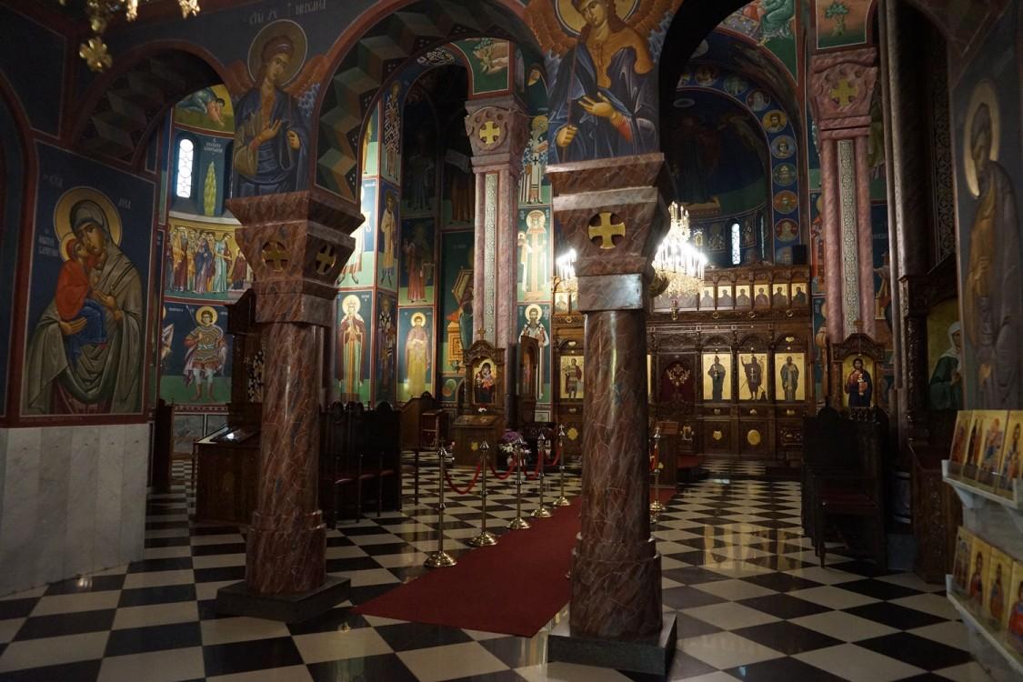 Прочие страны, Словения, Любляна. Церковь Кирилла и Мефодия, фотография. интерьер и убранство