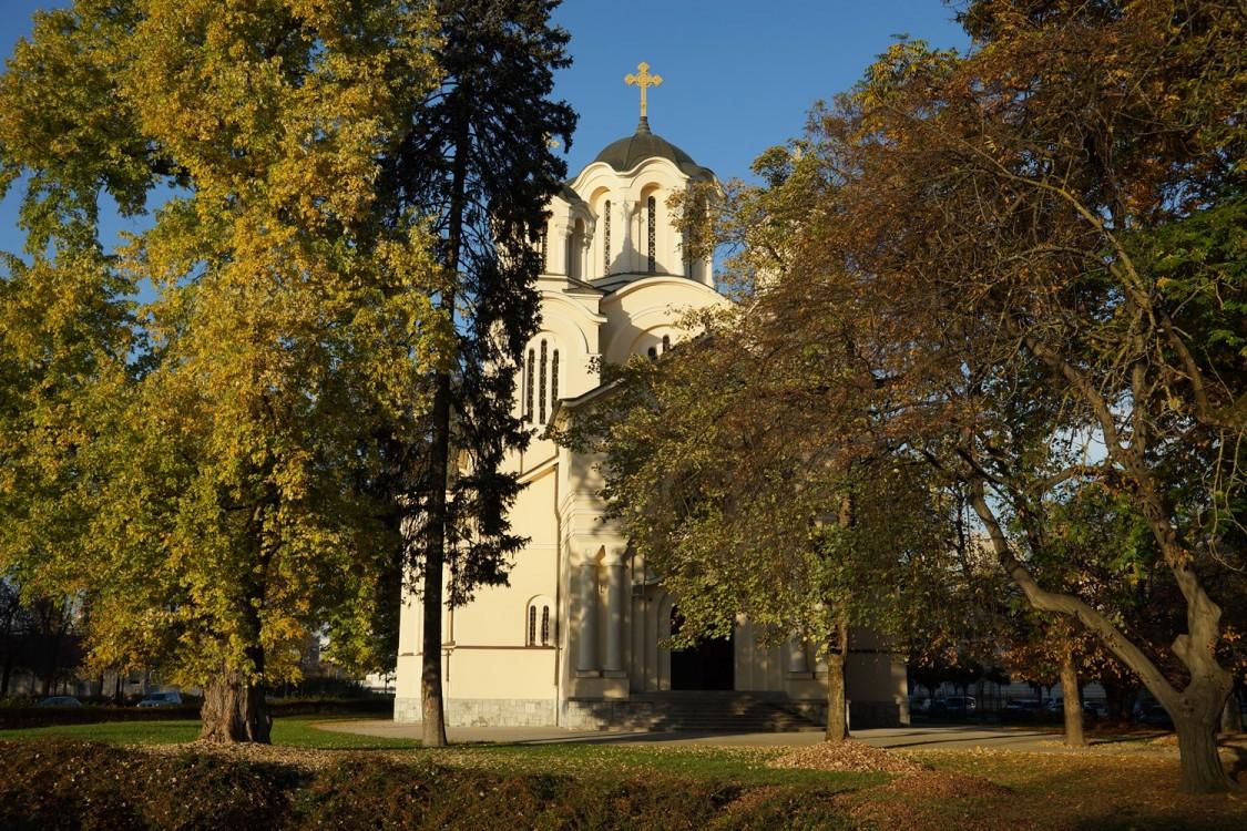 Прочие страны, Словения, Любляна. Церковь Кирилла и Мефодия, фотография. фасады
