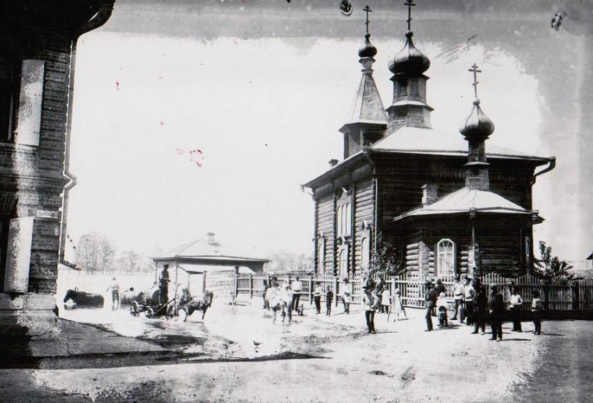 Церковь Покрова Пресвятой Богородицы старая, Минусинск