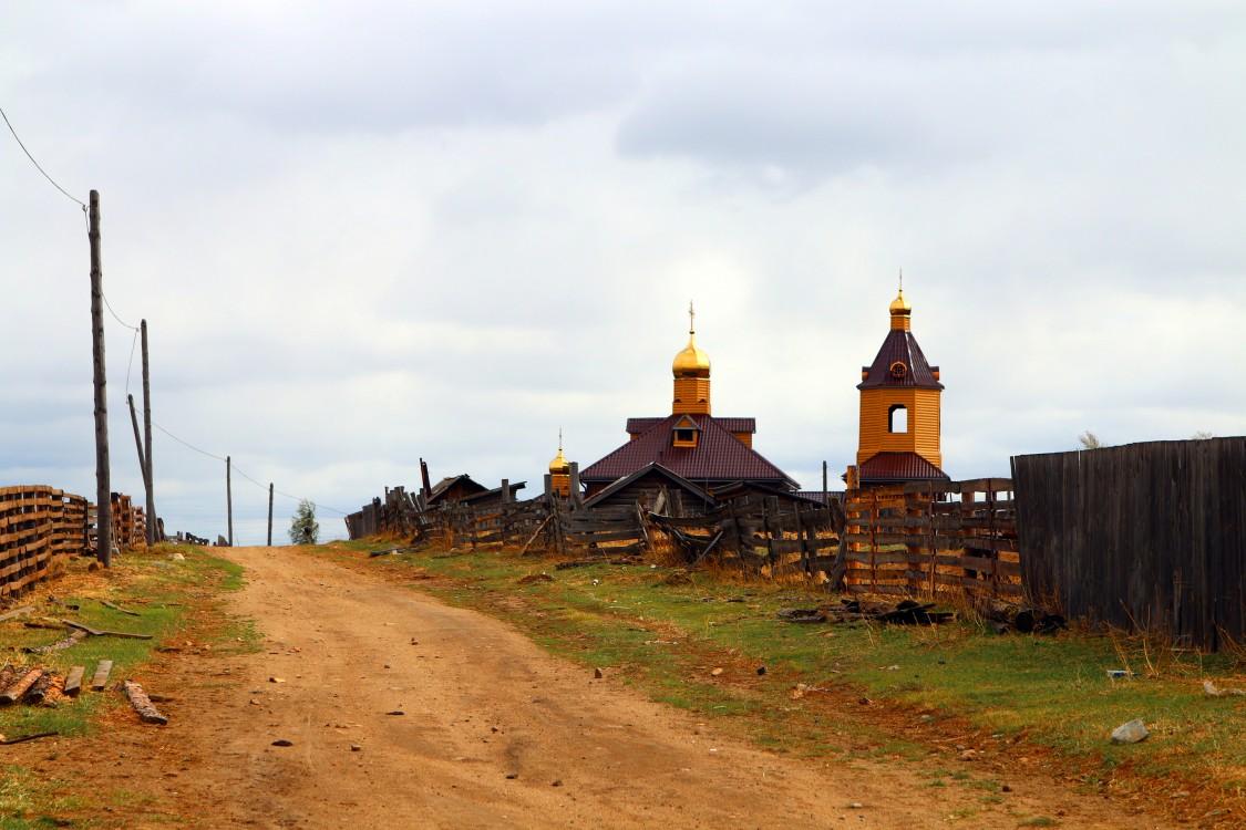 Забайкальский край, Улётовский район, Танга. Церковь Иннокентия, епископа Иркутского, фотография. фасады